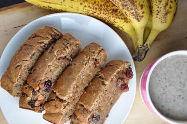 Gezond Bananenbrood (Suikervrij, Vetvrij)