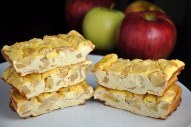 Appel-Proteïne Cheesecake Repen (Glutenvrij, Suikervrij)
