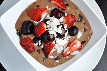 Gezond Chocolade-ijs (Glutenvrij, Suikervrij)