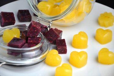 Gezonde Zelfgemaakte Gummy-Snoepjes