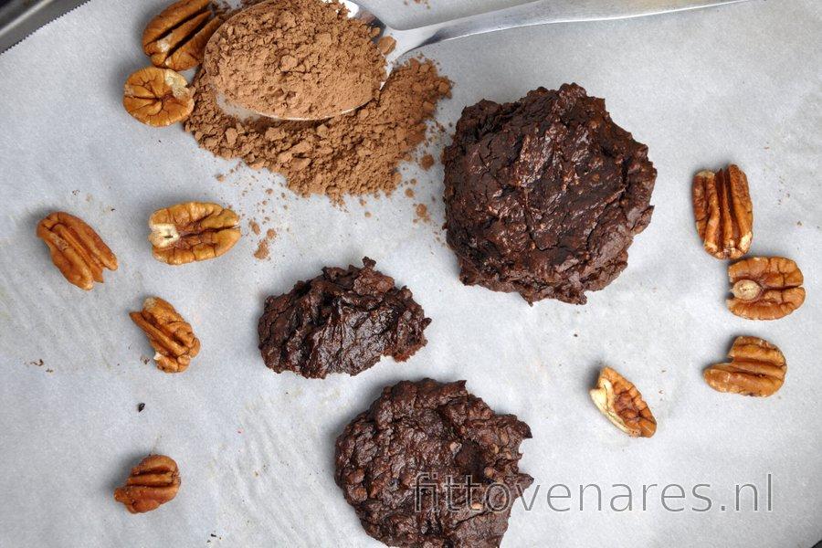 Bloemloze Avocado-Cacaokoekjes (Glutenvrij)