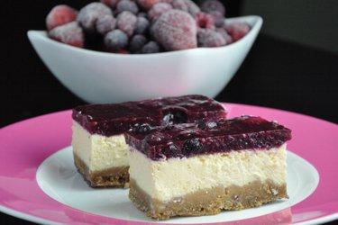 Gezonde Yoghurt Cheesecake (Glutenvrij en Suikervrij)