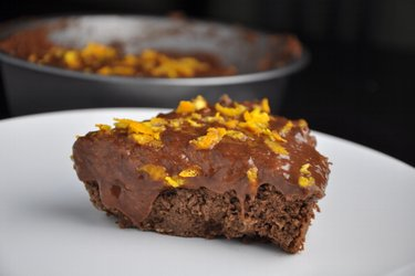 Gezonde Chocolade-Sinaasappel Kikkererwtentaart