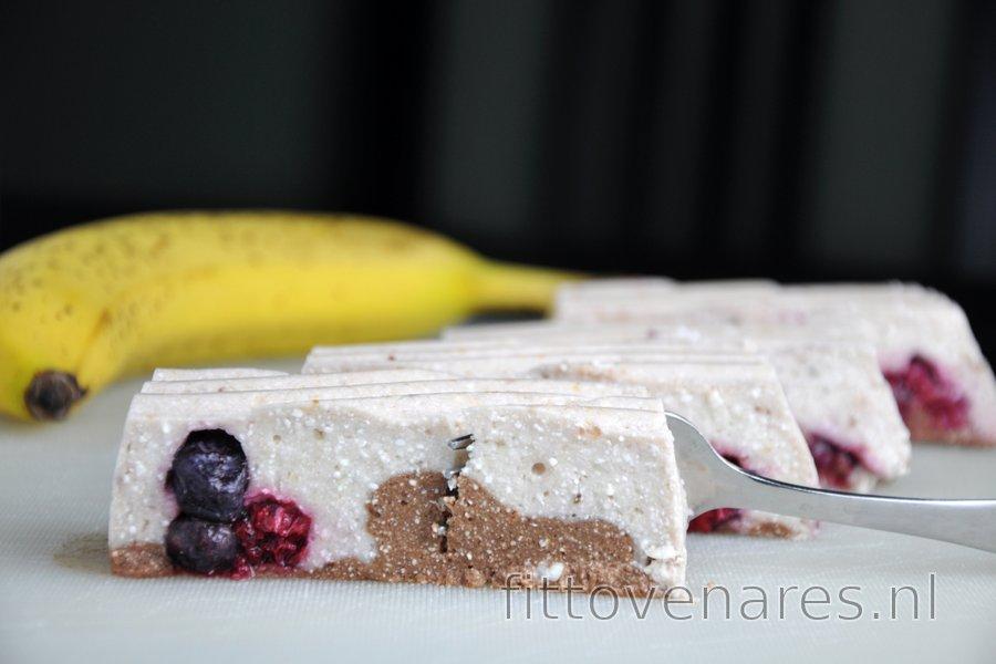 Ongebakken Banaan-Kwarkdessert (Glutenvrij)
