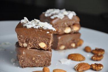Ongebakken Cacaoblokjes (Glutenvrij)
