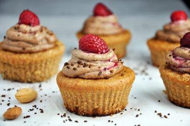 Amandelcupcakes met Koffie-Cashewcrème (Glutenvrij)