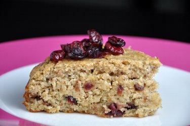 Gezonde Cranberry-Amandelcake (Glutenvrij)
