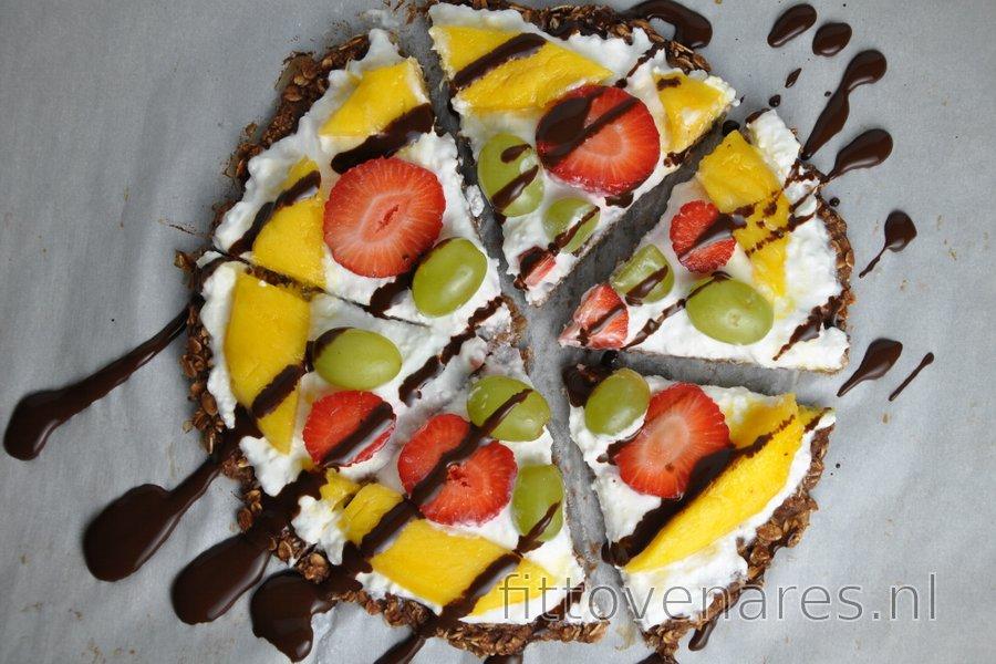 Gezonde Havermout Fruitpizza