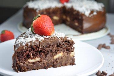 """Gezonde chocoladecake """"Chocoholic"""""""
