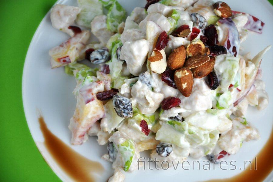 Overheerlijke Fruitsalade met Kip