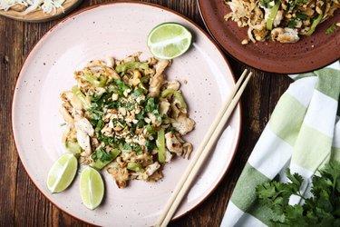 Makkelijke Pad Thai met kip