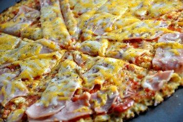 Gezonde Bloemkoolpizza