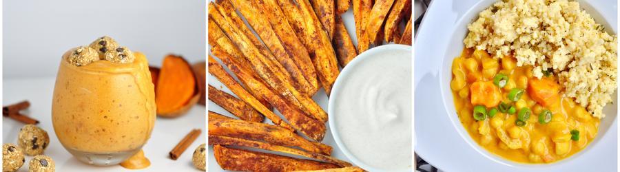 Gezonde Veganistische Zoete Aardappelrecepten
