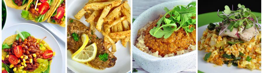 Gezonde Zuivelvrije Diner- en Lunchrecepten
