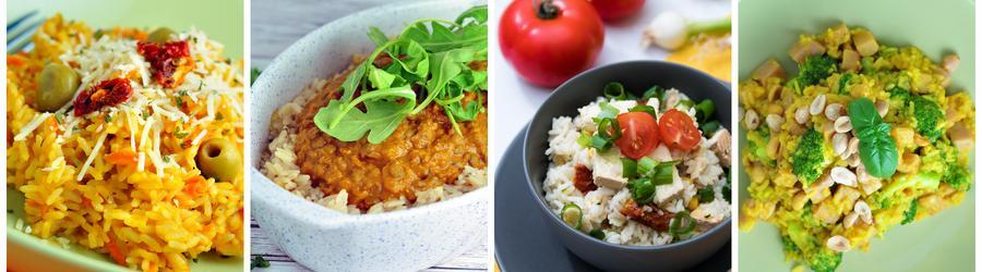 Gezonde Diner- en Lunchrecepten met Rijst
