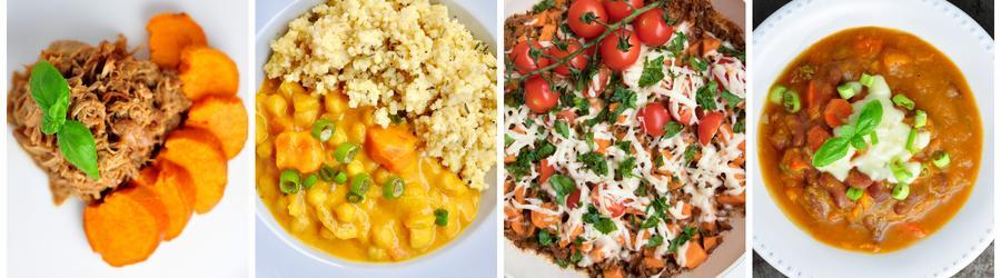 Gezonde Diner- en Lunchrecepten met Zoete Aardappelen