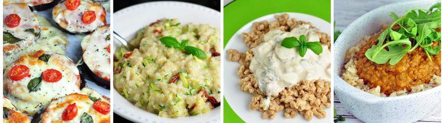 Vegetarische Diner- en Lunchrecepten