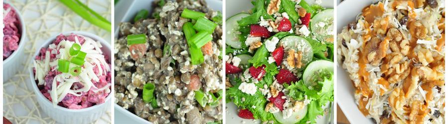 Caloriearme Saladerecepten voor Gewichtsverlies