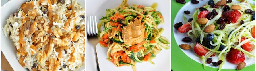 Gezonde Saladerecepten met Courgette