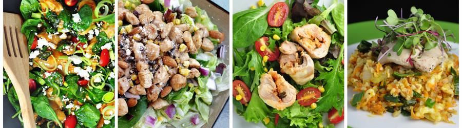 Gezonde Saladerecepten met Kip