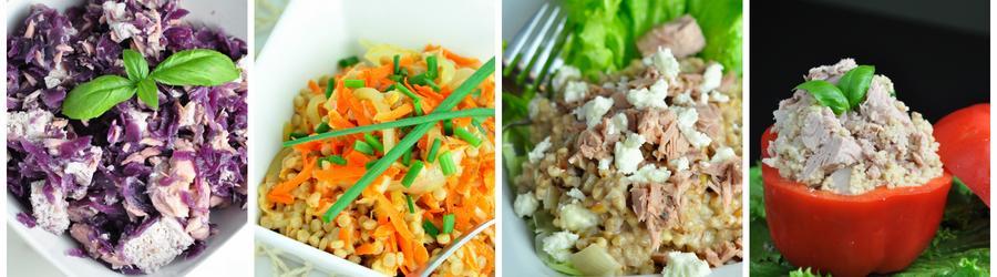 Gezonde Saladerecepten met Tonijn